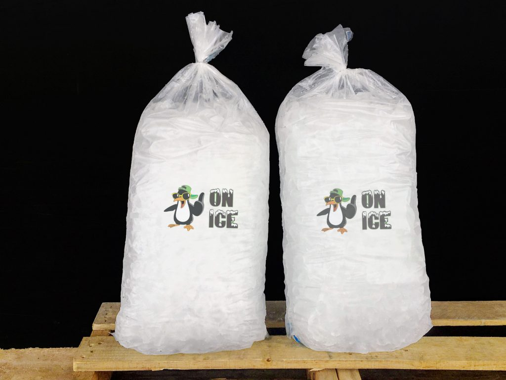 20 pound ice bags
